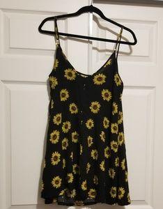 Cute sunflower dress